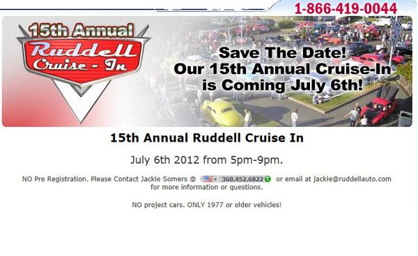 ruddell auto cruise in