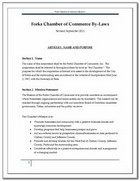 Chamber By-Laws