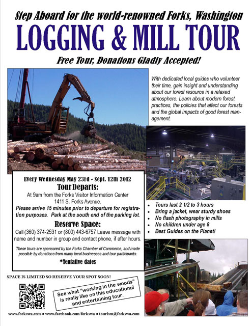 2012 Logging Tour Flyer