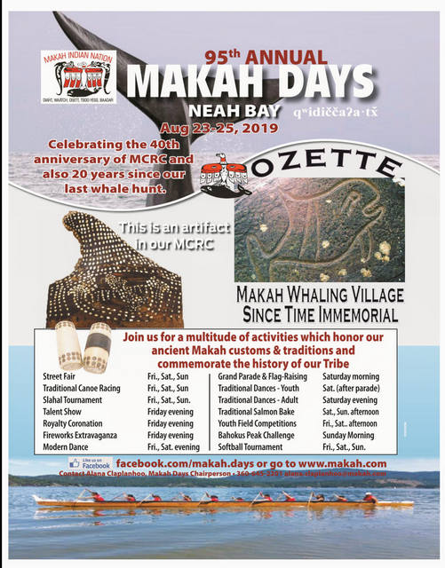 95th Annual Makah Days Celebration @ Neah Bay | Neah Bay | Washington | United States