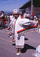 Image of traditional Makah attire