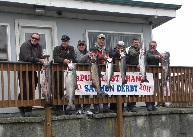 salmon derby winners 2011 close-up