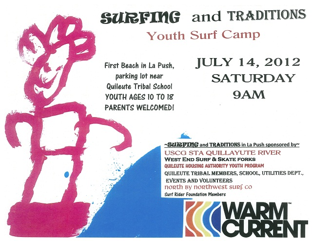 Surfing and Traditions 2012