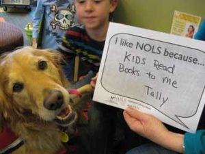 NOLS Paws reading