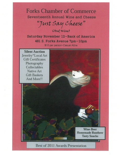 2011 wine and cheese poster