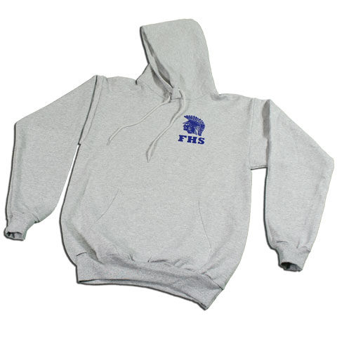 Forks Spartans Pullover Hoodie (Athletic Heather)
