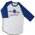 Forks Spartans 3/4 Sleeve Jersey