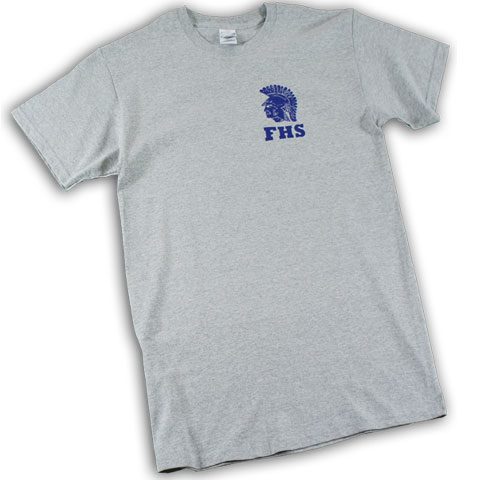 Forks Spartans T-Shirt (Sport Gray)
