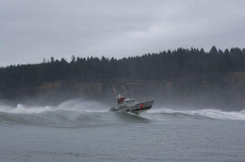 coast guard life boat