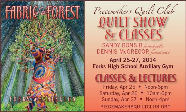 Fabric of the Forest Quilt Show