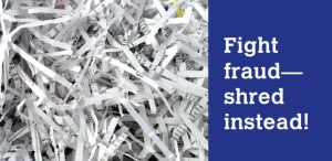 First Federal Shred Event