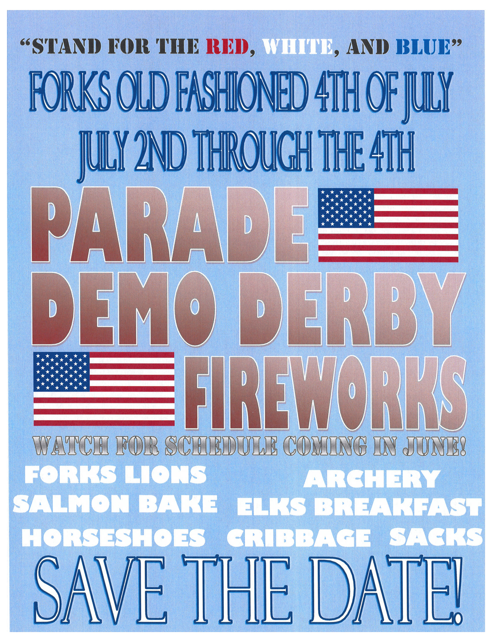 Forks Old Fashioned 4th of July @ Forks, Washington