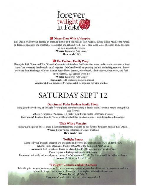 FTF Schedule Part 2