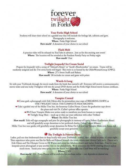 FTF Schedule Part 3