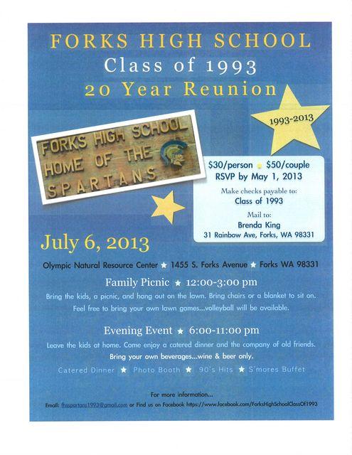 FHS Class of 1993 Reunion