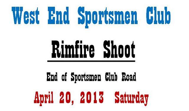 Rimfire Shoot