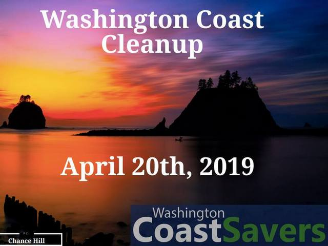 Washington Coast Cleanup @ West Coast Beaches