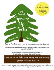 Spruce up Forks
