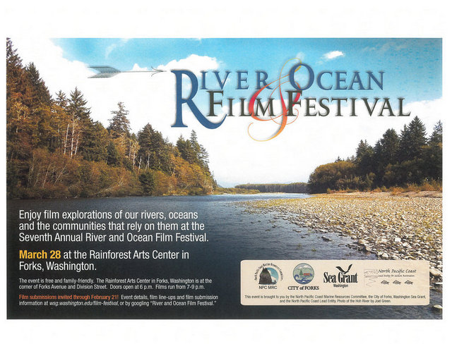 7th Annual River & Ocean Film Festival @ Rainforest Arts Center | Forks | Washington | United States