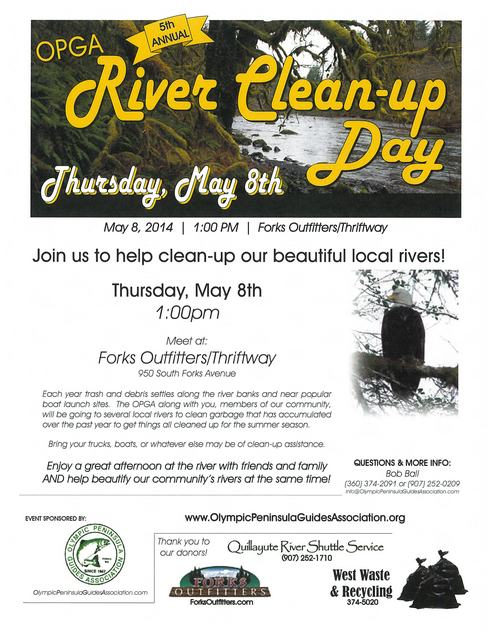 River Clean Up Day 2014
