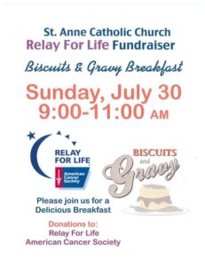 relay for life breakfast 7-30-17
