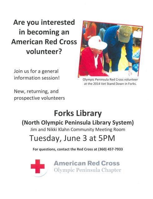 Red Cross volunteer meeting