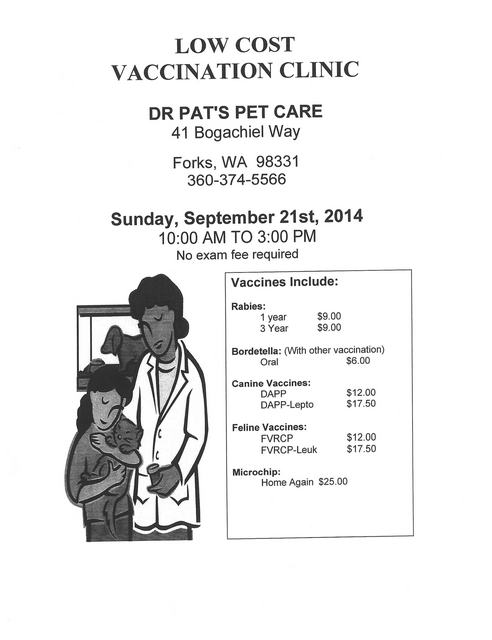 Low Cost Vaccination Clinic