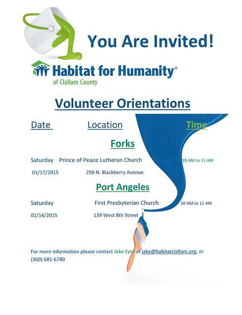 Habitat Volunteer Training