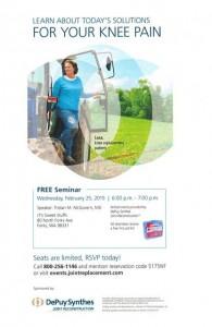 FREE Knee pain Seminar