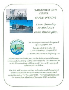 Rainforest Arts Center Grand Opening
