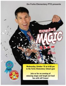 Family Night Magic Show @ Forks Elementary School Gym | Forks | Washington | United States