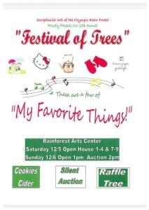 Festivial Of Trees: My favorite things