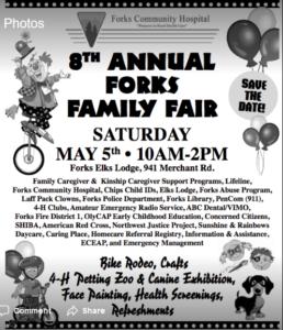 8th Annual Forks Family Fair @ Forks Elks Lodge | Forks | Washington | United States
