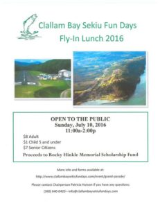 Fly-in Lunch @ Sekiu Airport