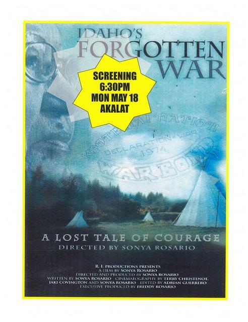 Idaho's Forgotten War