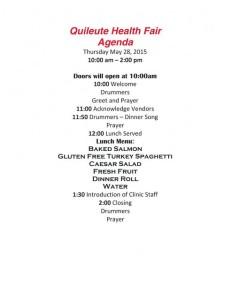 Quileute Health Fair