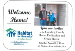 Habitat for Humanity Gooding Family Open House