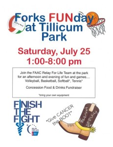 Forks Funday Relay For Life