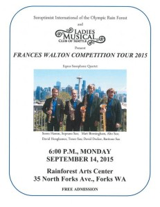 Frances Walton Comptetion Tour 2015