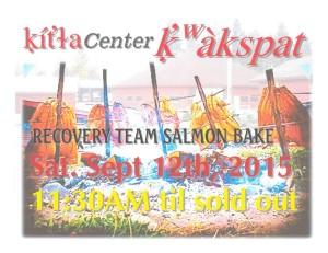 Recovery Team Salmon Bake