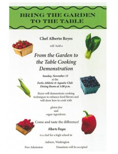 Bring The Garden To The Table