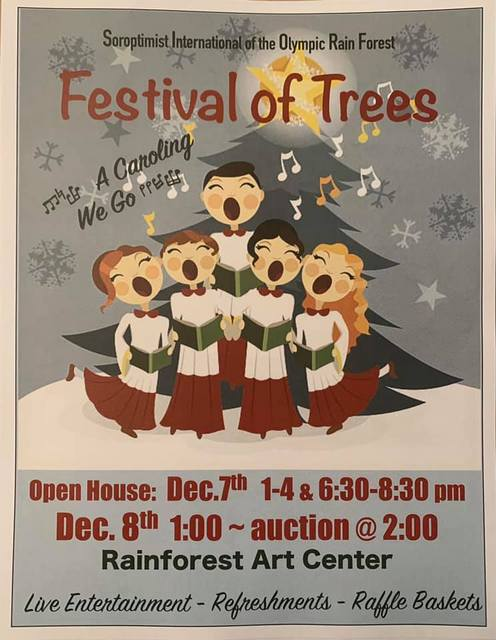24th Annual SIORF Festival of Trees @ Rainforest Arts Center | Forks | Washington | United States