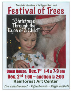 SIORF Festival of Trees @ Rainforest Arts Center | Forks | Washington | United States