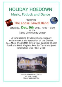 Holiday Hoedown @ Sekiu Community Center | Sekiu | Washington | United States