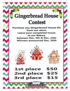 Ginger Bread House Contest Forks Outfitters