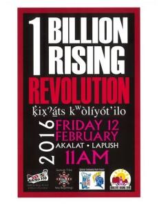 1 Billion Rising Revolution @ Akalat Center  | La Push | Washington | United States