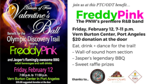 Valentines ball with Freddy Pink