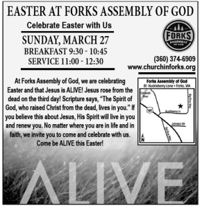 Easter at Forks Assembly of GOD