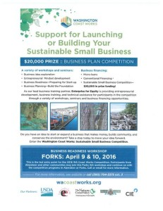 Support for Launching or Building Your Sustainable Small Business @ Small Business Competition