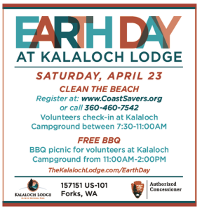 Earth Day Kalaloch